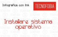 Infografica : Installare sistema operativo