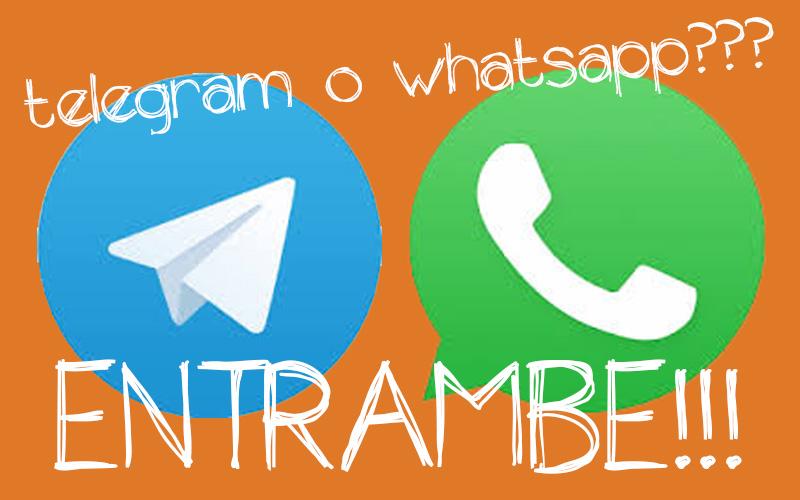 Whatsapp Telegram differenze e similitudini