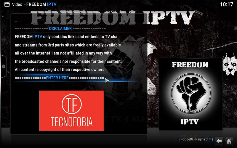 Freedom Iptv Kodi diventa Mad Streams addon kodi