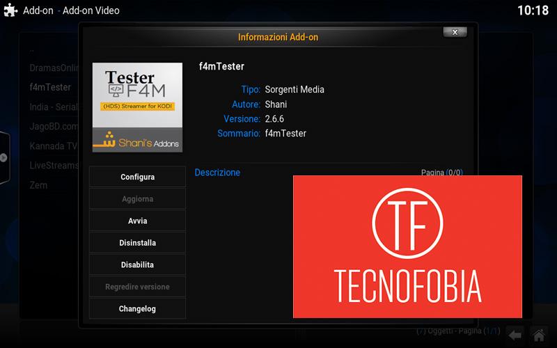 F4M Tester Kodi : installazione e soluzione problemi