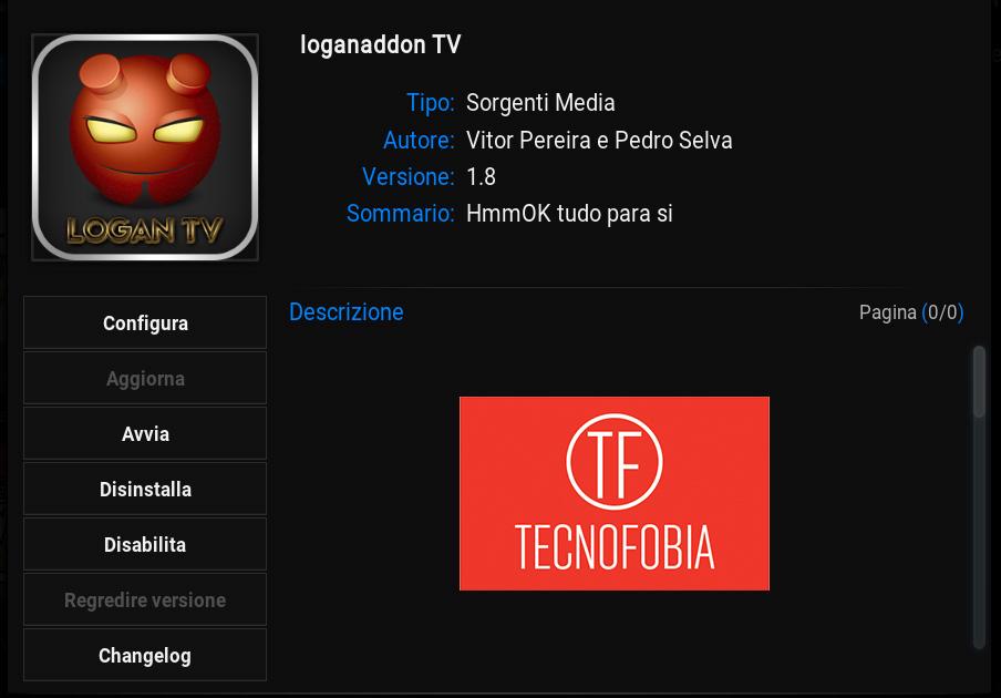 Tv via internet : Logan TV Addon Kodi