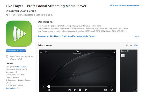 Partite in streaming : in diretta su android, iphone e ipad
