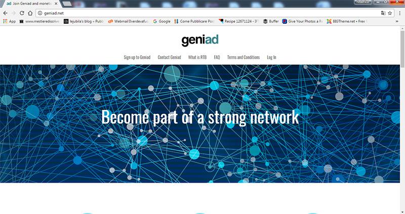 Alternative Adsense : Geniad fa al caso tuo.