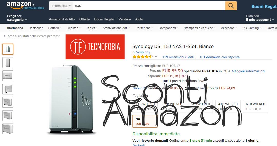 Sconti Amazon : confezione danneggiata = risparmio!